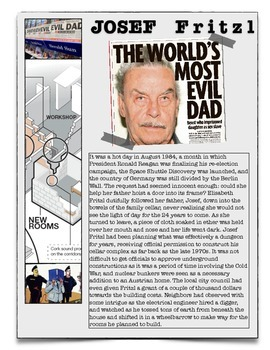 Josef Fritzl - The Most Evil Father in the World