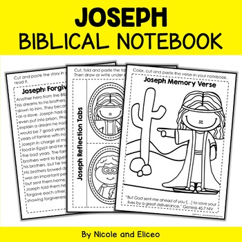 Bible Character Lessons - Joseph