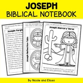 Jospeh and the Coat Bible Lessons Notebook