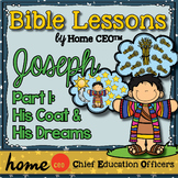 Joseph Bible Lesson (Part 1 of 3 - His Coat & His Dreams)
