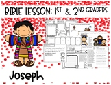 Joseph Bible Lesson on Trust (1st/2nd grade Series)
