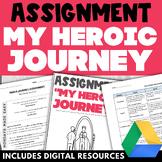 Joseph Campbell HEROS JOURNEY Assignment, Scaffolding Work