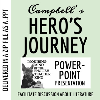 Joseph Campbell's Model of the Hero's Journey - PowerPoint