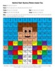 Joseph & Coat of Many Colors Hundred Chart Mystery Picture with Bible Clue