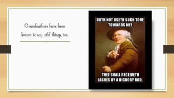 Joseph DeCreux Memes: Mom Phrases