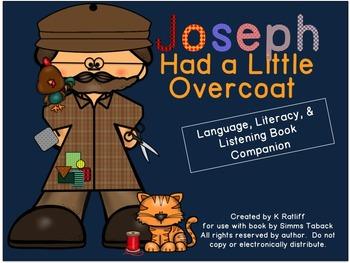 Joseph Had a Little Overcoat:  Literacy, Language, & Listening Book Companion