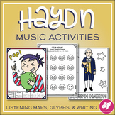 Joseph Haydn Activities: Listening Maps, Glyphs, & Writing Prompts