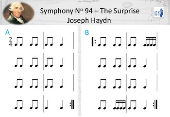 Joseph Haydn - Surprise Symphony - Ta, Ti-ti, Tika-tika (♩ ♫ ♬♬)