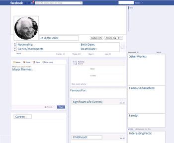 Joseph Heller - Author Study - Profile and Social Media