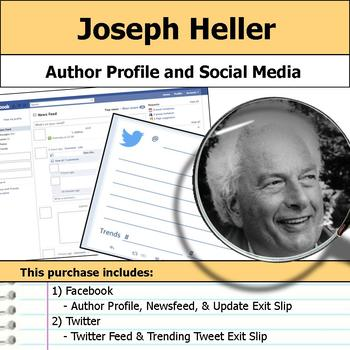 Joseph Heller - Author Study - Profile and Social Media