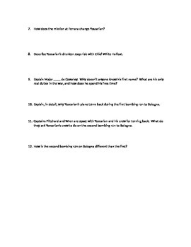 Joseph Heller's Catch-22--Group Discussion Questions Packet