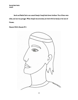 Joseph, Leader For God Coloring and Activity Book