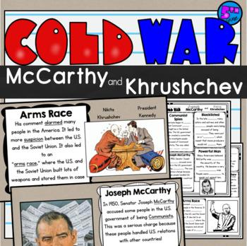 Joseph McCarthy and Nikita Khrushchev: Cold War SS5Hc
