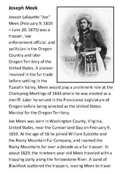Joseph Meek Handout