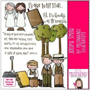 Melonheadz: Joseph Smith clip art - COMBO PACK