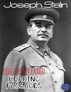 Joseph Stalin Differentiated Reading Passages & Questions