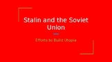 Joseph Stalin and the Soviet Union PowerPoint Presentation