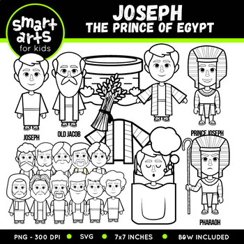 Joseph The Dreamer Clip Art