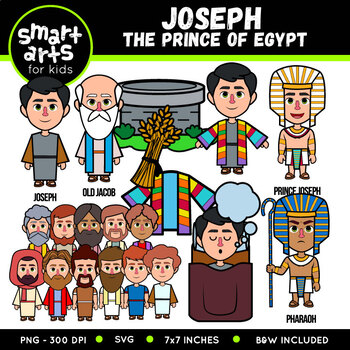 Joseph The Dreamer Clip Art