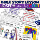 Joseph and His Coat of Colors Booklet and Activities for Church or Sunday School