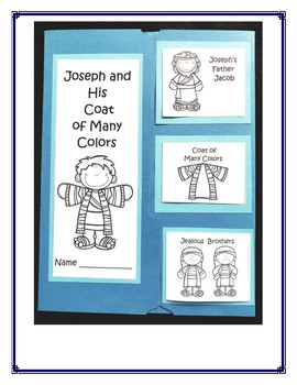 Joseph and His Coat of Many Colors Lapbook