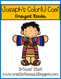Joseph's Colorful Coat~ emergent reader