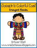 Joseph's Colorful Coat~ emergent reader