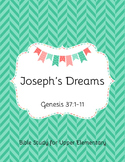 Joseph's Dreams Bible Study for Upper Elementary