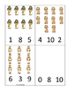 Joseph themed Count and Clip printable game. Preschool Bible Study Curriculum.