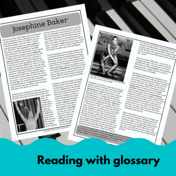 Josephine Baker - a reading for intermediate French learners