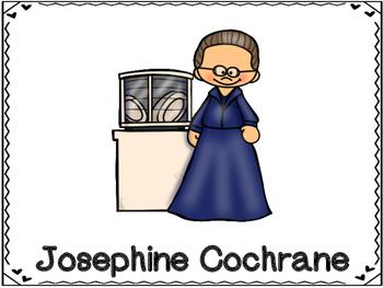 Josephine Cochrane Inventor (Dishwasher)