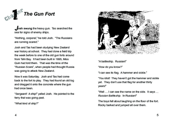 Josh and the Gun Fort – Easy reading mileage for reluctant reader boys