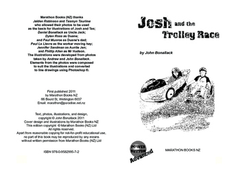 Josh and the Trolley Race – Easy-reading mileage for reluctant reader boys