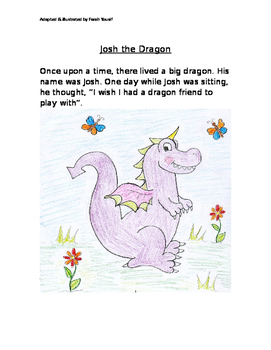 Josh the Dragon - A story of Tolerance