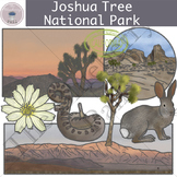 Joshua Tree National Park Clipart Set