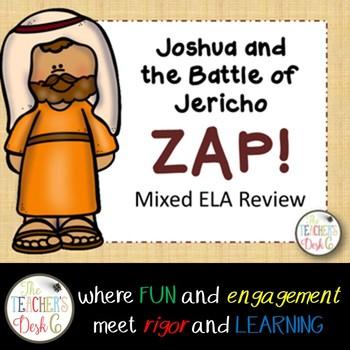 Joshua ZAP! Mixed ELA Skills: Nouns, Verbs, Predicates, Plurals, Fragments