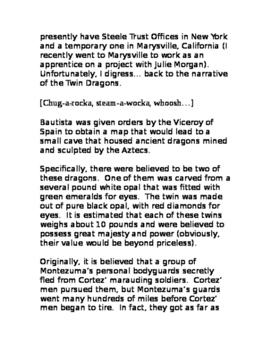"""Josiah Omaha Steele & the Dragon's Breath (A Short Story)"" New Book Trailer"