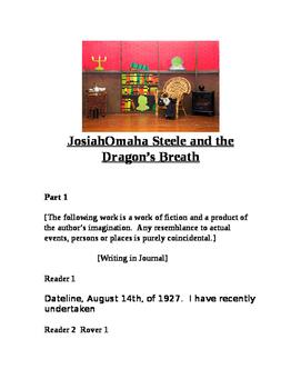 """""""Josiah Steele & the Dragon's Breath (Readers Theatre Script)"""" New Book Trailer"""