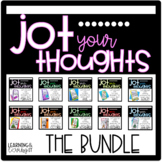 Jot Your Thoughts-Journal Prompts for Blank Books THE COMPLETE BUNDLE