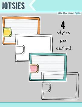 Jotsies - clip art frames