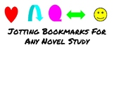 Jotting Bookmarks for **ANY** Novel