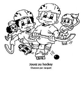 Jouez au hockey!