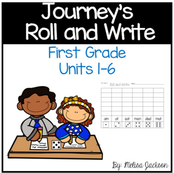 Jouneys 1st Grde Spelling Roll and Write Spelling Practice for the WHOLE Year