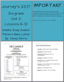 Jouneys 2017 3rd Grade Weekly Study Guide Unit 2