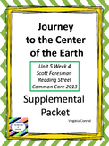 Journey to the Center of the Earth--Supplemental Packet--Reading Street Grade 5