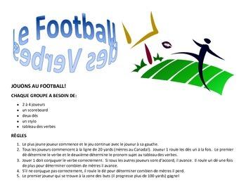 Jouons au Football des verbes!