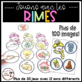 FRENCH Rhyming Activity - Jouons avec les rimes - Conscience phonologique