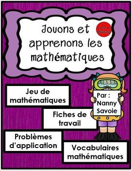 Jouons et apprenons les mathématiques