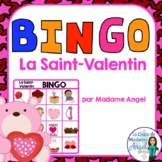La Saint Valentin:  Valentine's Day Bingo Game in French