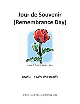 Jour de Souvenir (Remembrance Day)